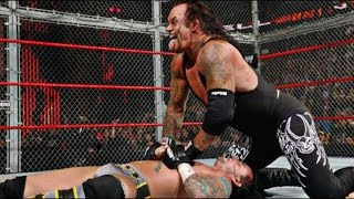 The Undertaker Vs Cm Punk Hell In A Cell 2009 highlights