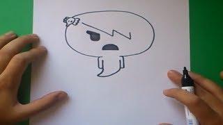 getlinkyoutube.com-Como dibujar a Carrie paso a paso - El asombroso mundo de gumball | How to draw Carrie