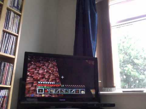 minecraft xbox - survival madness nether trip and a kitty cat (4)