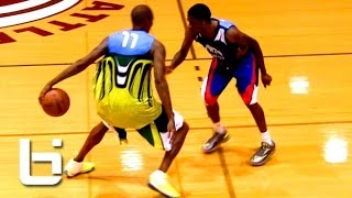 getlinkyoutube.com-Jamal Crawford Shows Off CRAZY Handles, Shots and Passing at Seattle Pro Am!