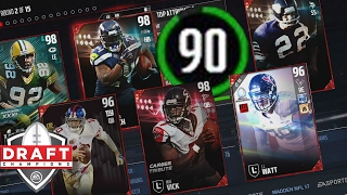 getlinkyoutube.com-How To Draft a 90 Overall Team | 90 Overall Draft Tutorial | Madden 17 Draft Champions Gameplay