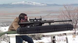 getlinkyoutube.com-Barrett 50 Caliber High Definition, Vapor Trails, Slo-mo!