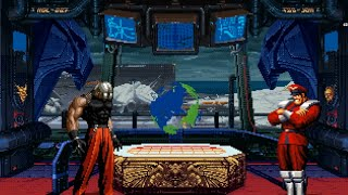 getlinkyoutube.com-[KOF VS. Street Fighter] Omega Rugal VS. M. Bison