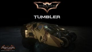 SKIN; Batman; Arkham Knight; Batman Begins Tumbler