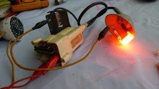 Probador de Flyback con lampara ahorradora