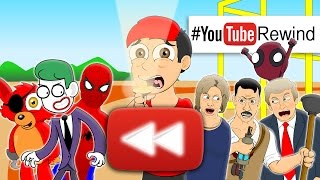 getlinkyoutube.com-YouTube Rewind 2016: Lhugueny Edition | #YouTubeRewind