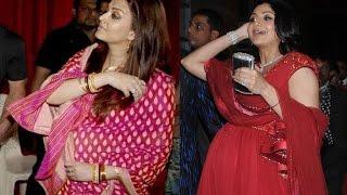 getlinkyoutube.com-Bollywood Actresses Flaunting Baby Bumps | Aishwarya Rai Bachchan, Shilpa Shetty etc