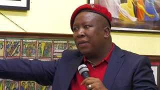 Julius Malema in Tottenham pt1 — White Supremacy