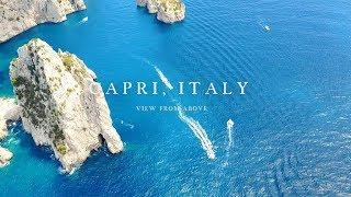 La Bellezza di Capri ripresa dal Drone di Paradise Picnic