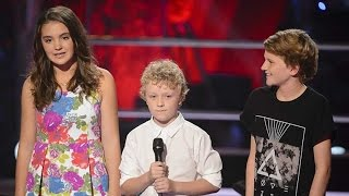 getlinkyoutube.com-Martha, Reilly and Fletcher Sing Let Her Go | The Voice Kids Australia 2014