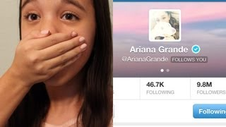 getlinkyoutube.com-Ariana Grande Followed Me On Twitter!