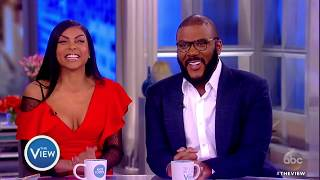 Taraji P. Henson, Tyler Perry Talk Bid Battle With Blue Ivy, Diversity, 'Acrimony' & More | The View width=
