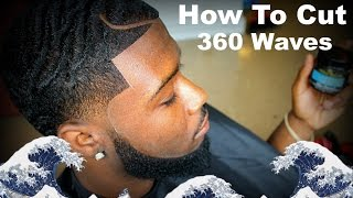 getlinkyoutube.com-Barber Tutorial: How To Cut 360 Waves With A Part HD* (Paul George)