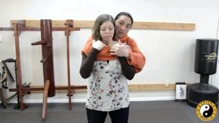getlinkyoutube.com-Women's Self Defense - Defending Against A Choke From Behind