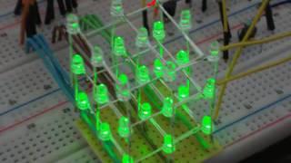 getlinkyoutube.com-3D LED Cube - LED Würfel + Bauanleitung