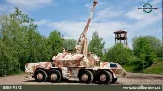 DANA-M1 CZ (EUROSATORY 2012) EXCALIBUR ARMY