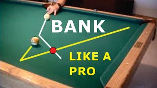 getlinkyoutube.com-Pool and billiards bank shot drill for learning cut-angle effects, from VEPP IV (NV C.14)