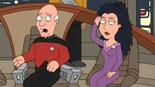 getlinkyoutube.com-Family Guy Piccard and Troi