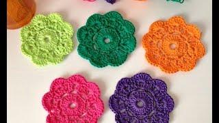 getlinkyoutube.com-Cómo hacer la Flor Maybelle a crochet