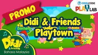 getlinkyoutube.com-Didi & Friends Playtown kini di Play Store dan App Store