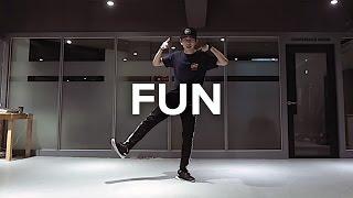 getlinkyoutube.com-Junho Lee Choreography / Fun - Pitbull (Feat. Chris Brown)