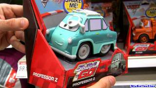 getlinkyoutube.com-Shake n Go Cars 2 Collection Disney Pixar Cars Toon Mater's tall tales Toys Review by Blucollection
