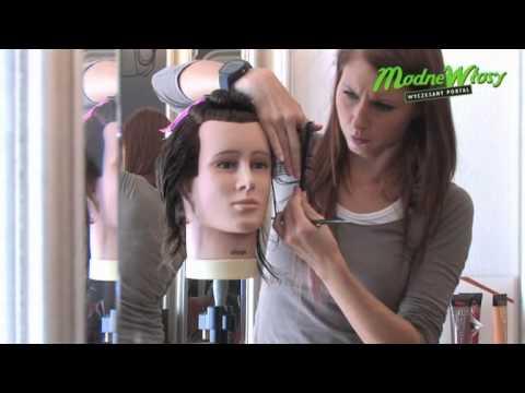 Akademia Ducastel - Artur Pysz strzyżenie męskie - włosy średnie