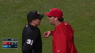 getlinkyoutube.com-STL@CHC: Matheny, Molina get ejected in the 6th