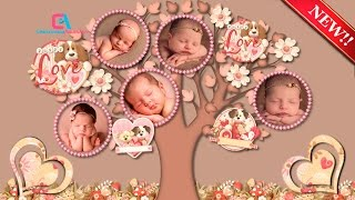 The Photographs of My Baby's First Month of Life in A Video / Proshow Producer Template