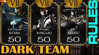 getlinkyoutube.com-Dark Raiden, Dark Empress Kitana and Revenant Kung Lao team in ACTION!