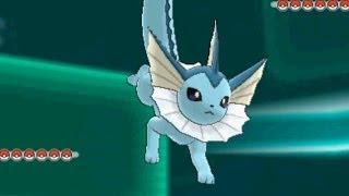 getlinkyoutube.com-Pokemon X and Y WiFi Battle: Vaporeon Scouting