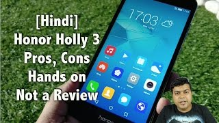 getlinkyoutube.com-Hindi | Honor Holly 3 India Hands on, Pros, Cons, Comparison | Gadgets To Use
