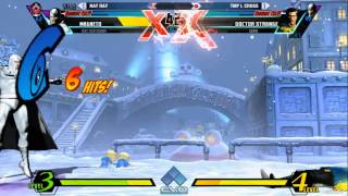 EVO 2015 UMVC3 Semis - RayRay vs TMP L Cross 1080p