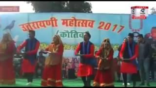 उत्तराखंड के सुप्रसिद्ध लोकगायक गजेंद्र राणा के लोकगीतों पर जमकर नाची जनता