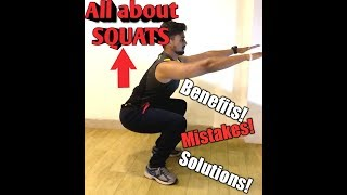 how to do perfect squat in hindi II squats benefits and mistakes