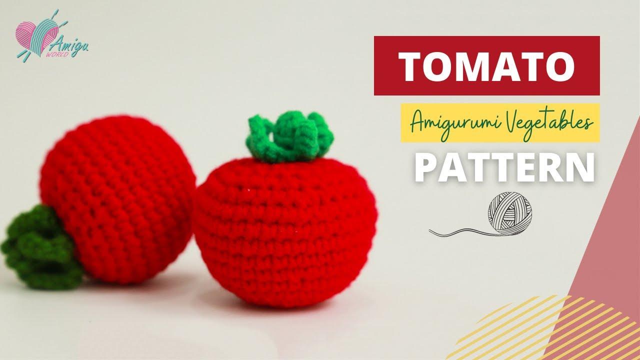 Móc quả cà chua bằng len siêu dễ bạn đừng bỏ lỡ!