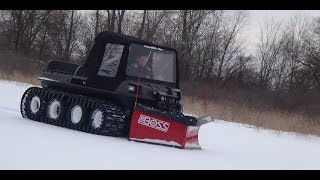 getlinkyoutube.com-Mudd-Ox: The Boss Snowplow - Revolutionizing UTV's
