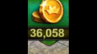 getlinkyoutube.com-Clash of Kings 36000 gold and crazy items part 1!!