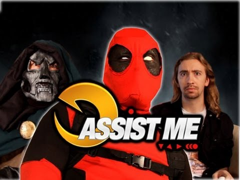 'ASSIST ME!' Featuring Deadpool: Part 3 (Ultimate Marvel vs Capcom 3 Tutorial/Parody)