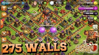 getlinkyoutube.com-275 WALLS LAYOUT [PUSH] || speedbulding + live-defense at 4700
