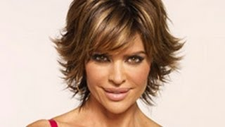 getlinkyoutube.com-(Part 1 of 2) How to CUT and STYLE your HAIR like LISA RINNA Haircut Hairstyle Tutorial layered shag