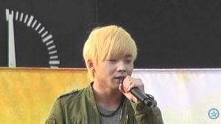 getlinkyoutube.com-한중 가을축제: 백청강 천년바위 직캠Baekchungkang ベクチョンガン