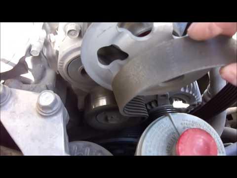 Замена ремня и ролика натяжителя на Honda Accord 7 авто хонда