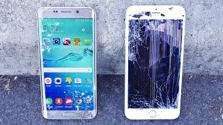 getlinkyoutube.com-Samsung Galaxy S6 Edge Plus VS iPhone 6 Plus Drop Test!