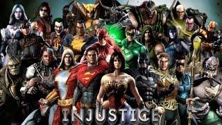 getlinkyoutube.com-Кто есть кто в Injustice: Gods Among Us (файтинг от создателей Mortal Kombat)