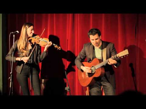 Liat and Yogev playing Django Reinhardt & Stéphane Grappelli