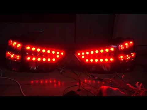 4-х режимные фонари.Поворотник при горящих стопах