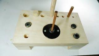 getlinkyoutube.com-Making a dowel station