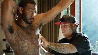 getlinkyoutube.com-NBA Superstar John Wall Gets Inked