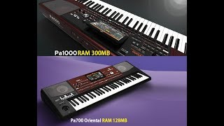 Korg Pa1000\Pa700 Oriental Styles And Sounds  برنامج كورغ ب1000 وكورغ 700